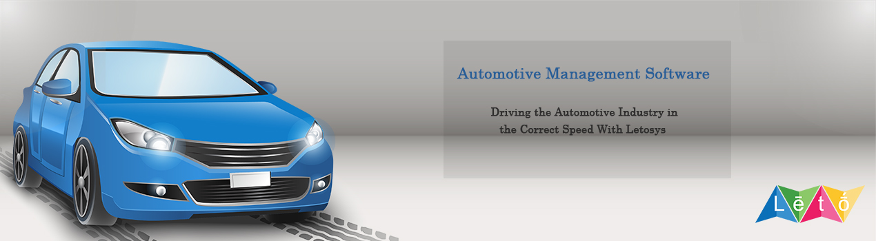 Best Automotive Software In Chennai Letosys